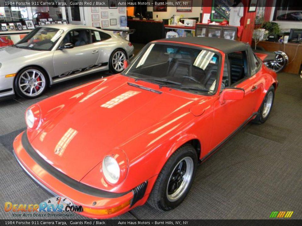 Front 3 4 View Of 1984 Porsche 911 Carrera Targa Photo 2 Dealerrevs Com