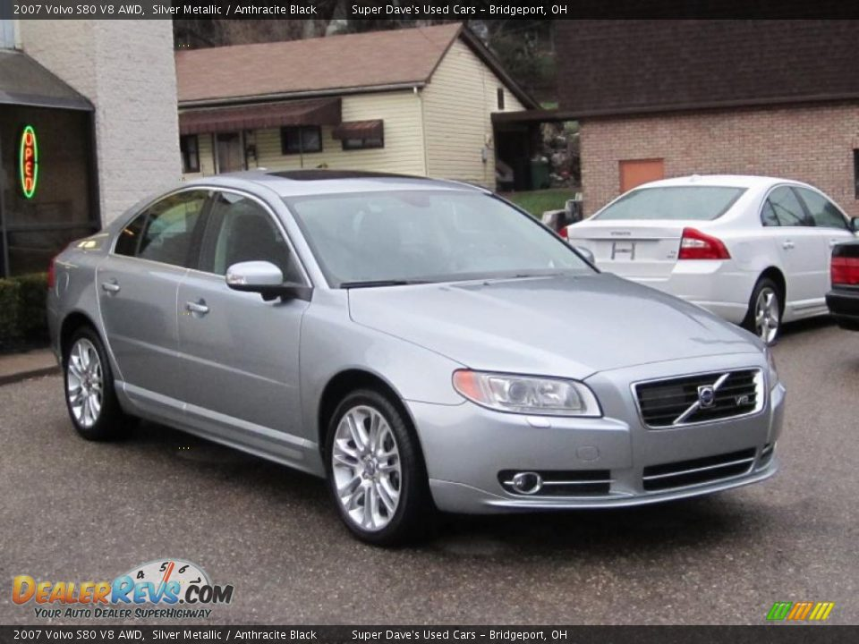 2007 volvo s80 v8 awd silver metallic anthracite black. Black Bedroom Furniture Sets. Home Design Ideas