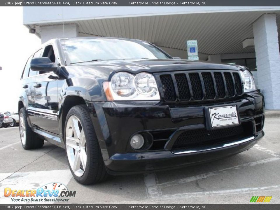 2007 jeep grand cherokee srt8 4x4 black medium slate gray photo 1. Cars Review. Best American Auto & Cars Review