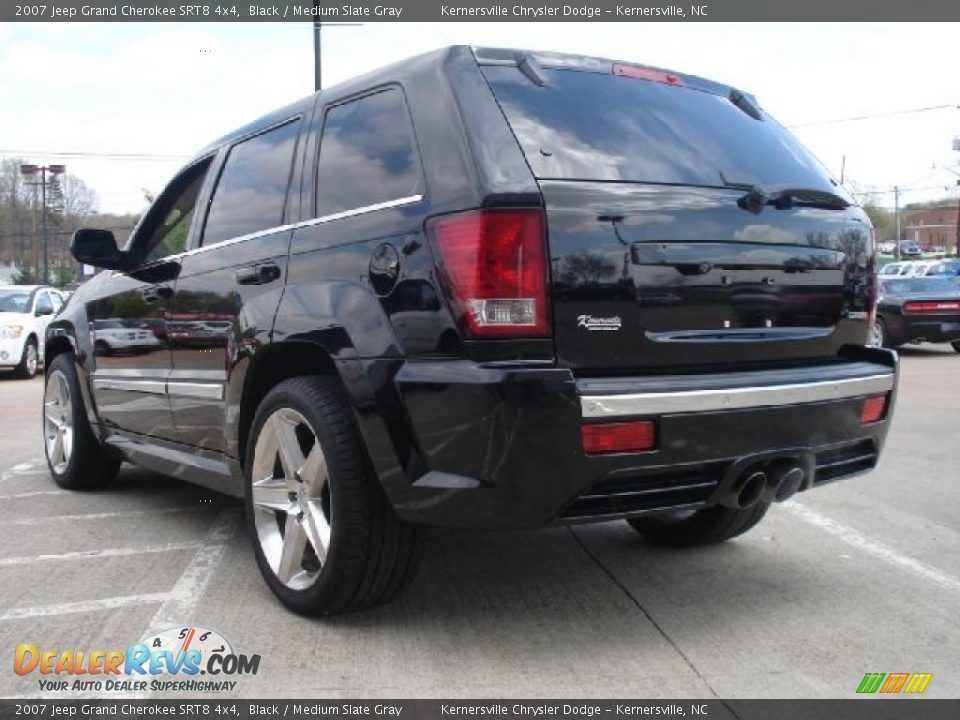 2007 jeep grand cherokee srt8 4x4 black medium slate gray photo 5. Cars Review. Best American Auto & Cars Review