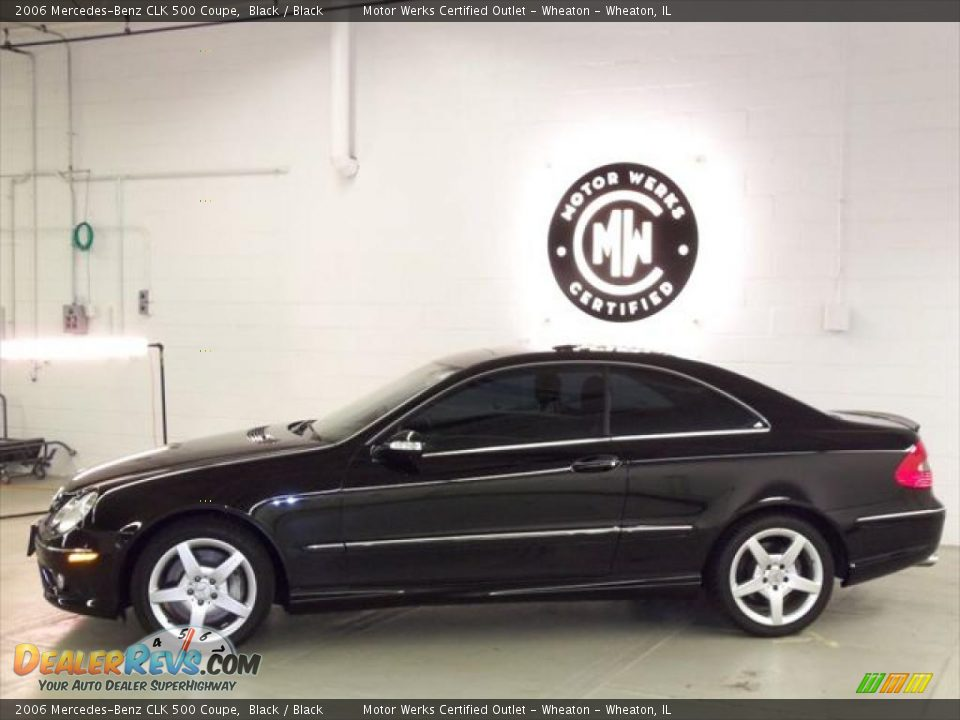 2006 mercedes benz clk 500 coupe black black photo 5 for 2006 mercedes benz clk 500