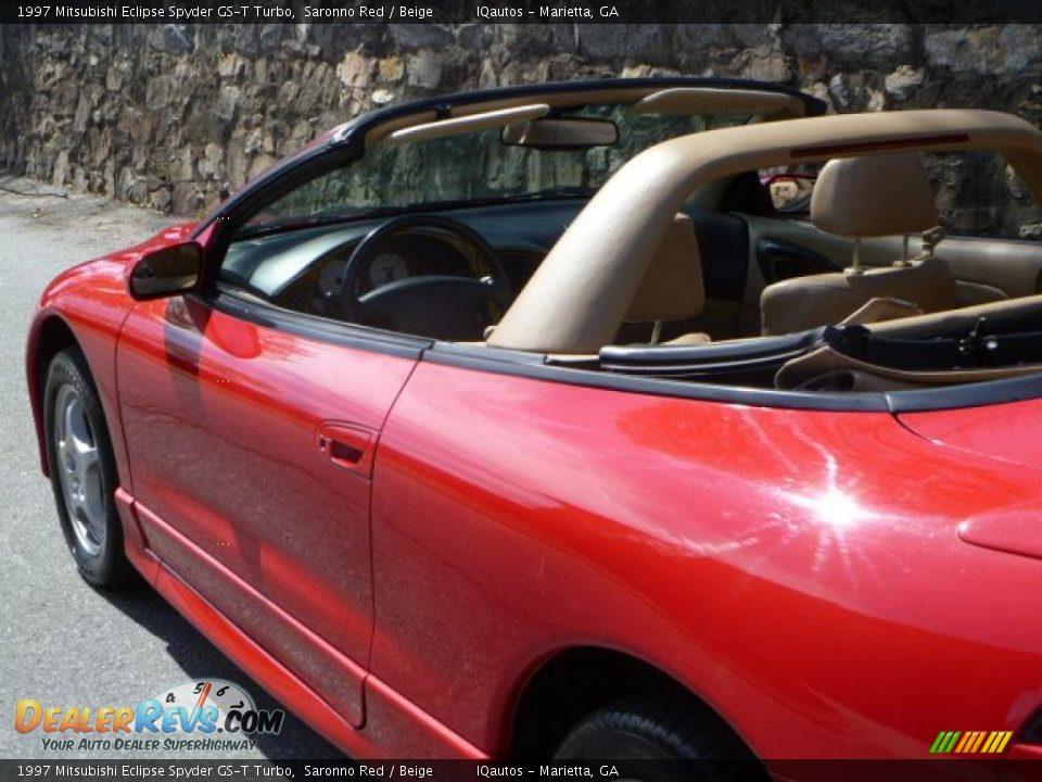 1997 mitsubishi eclipse spyder gs t turbo saronno red beige photo 16. Black Bedroom Furniture Sets. Home Design Ideas
