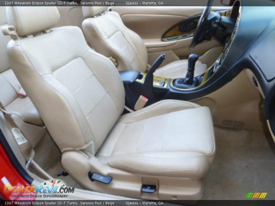 Beige Interior 1997 Mitsubishi Eclipse Spyder Gs T Turbo