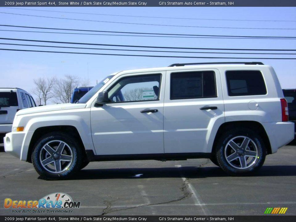 2009 jeep patriot sport 4x4 stone white dark slate gray. Black Bedroom Furniture Sets. Home Design Ideas