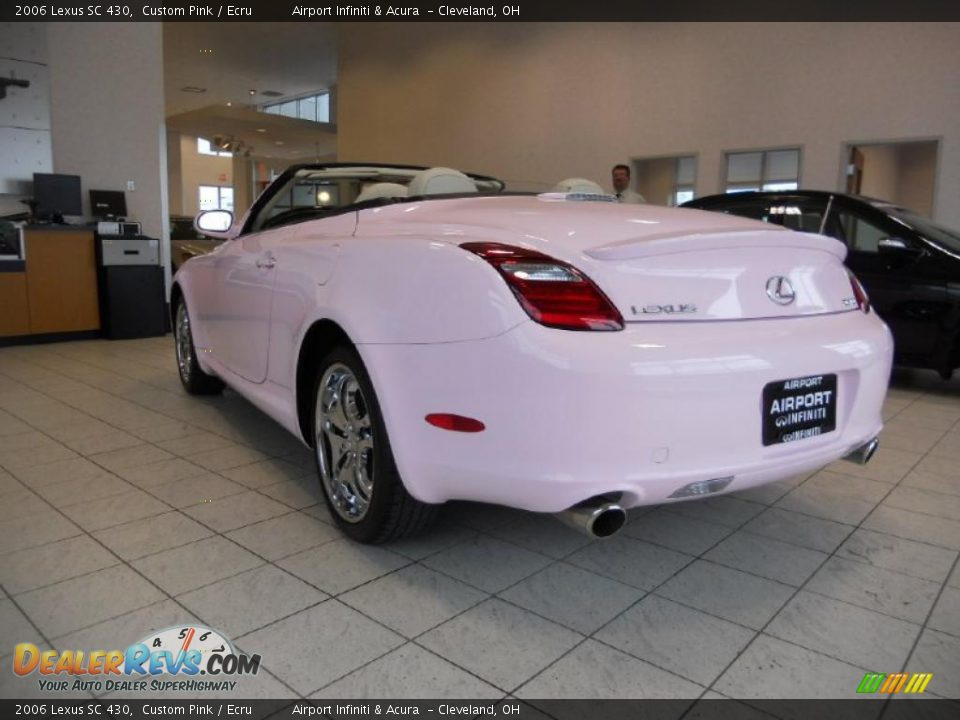 2006 Lexus Sc 430 Custom Pink Ecru Photo 7 Dealerrevs Com