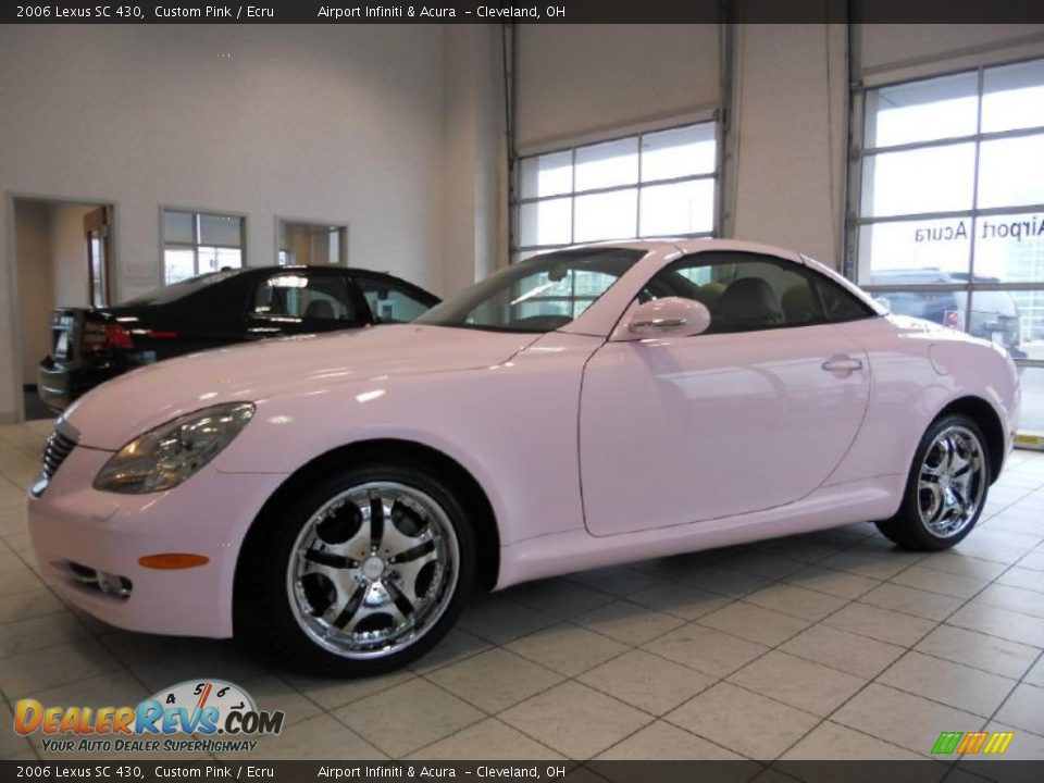 Custom Pink 2006 Lexus Sc 430 Photo 9 Dealerrevs Com