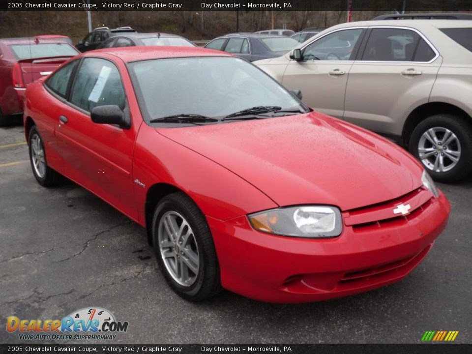 2005 chevrolet cavalier coupe victory red graphite gray photo 2. Cars Review. Best American Auto & Cars Review