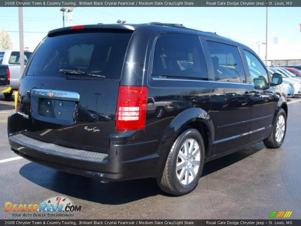 2008 Chrysler Town Amp Country Touring Brilliant Black