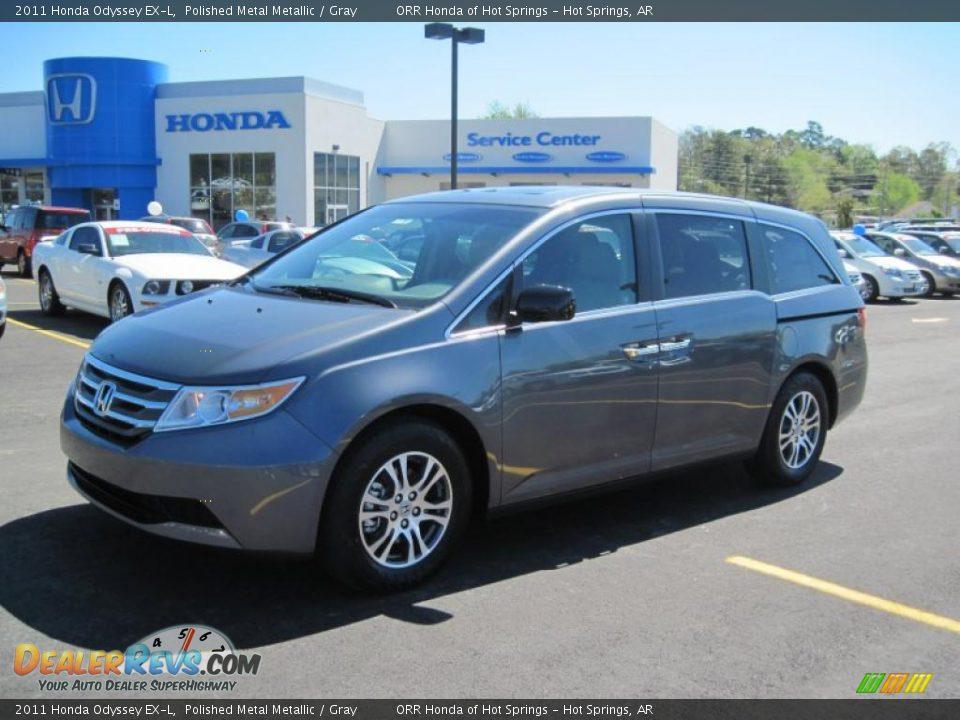 2011 Honda Odyssey Ex L Polished Metal Metallic Gray