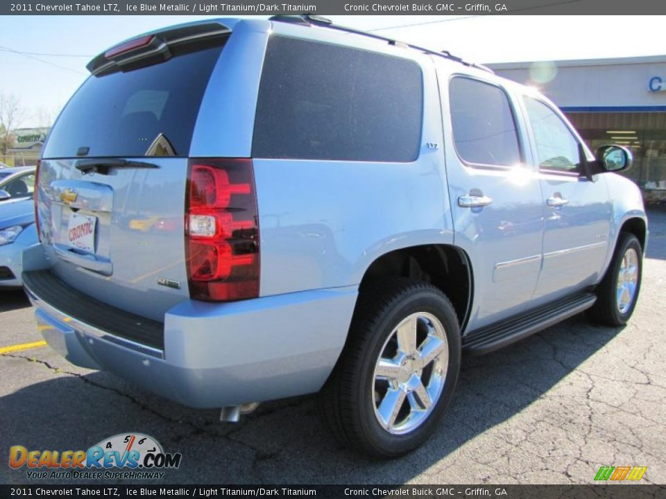 2011 Chevrolet Tahoe Ltz Ice Blue Metallic Light