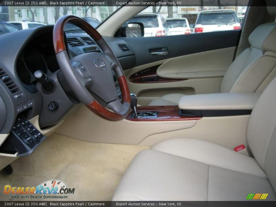 Cashmere Interior 2007 Lexus Gs 350 Awd Photo 7