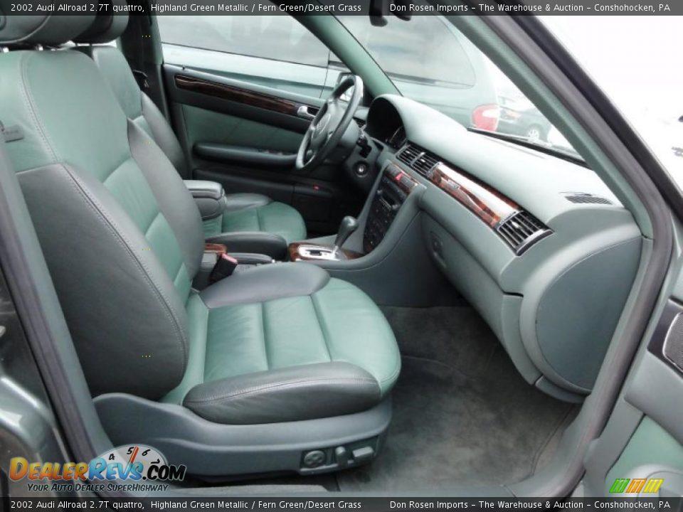 Fern Green Desert Grass Interior 2002 Audi Allroad 2 7t