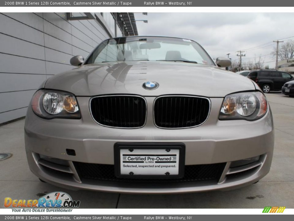 2008 bmw 1 series 128i convertible cashmere silver metallic taupe photo 4. Black Bedroom Furniture Sets. Home Design Ideas