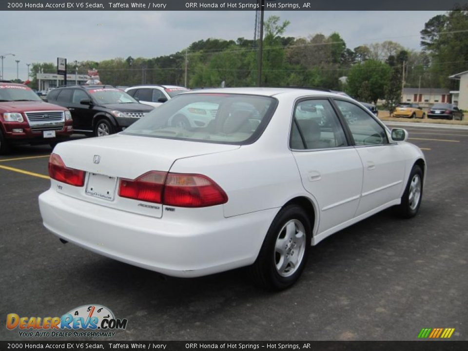 2000 honda accord ex v6 sedan taffeta white ivory photo 5. Black Bedroom Furniture Sets. Home Design Ideas
