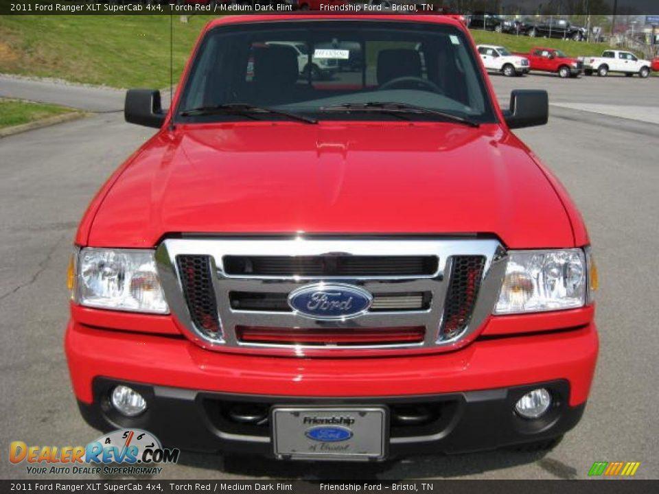 2017 Ford Ranger >> 2011 Ford Ranger XLT SuperCab 4x4 Torch Red / Medium Dark ...
