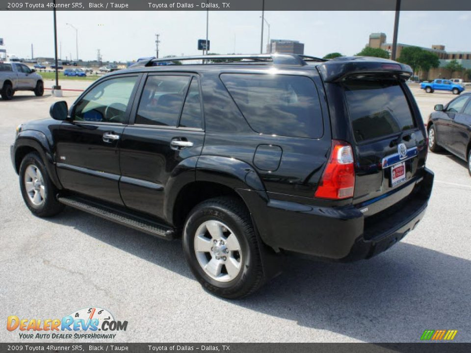 2009 Toyota 4runner Sr5 Black Taupe Photo 3