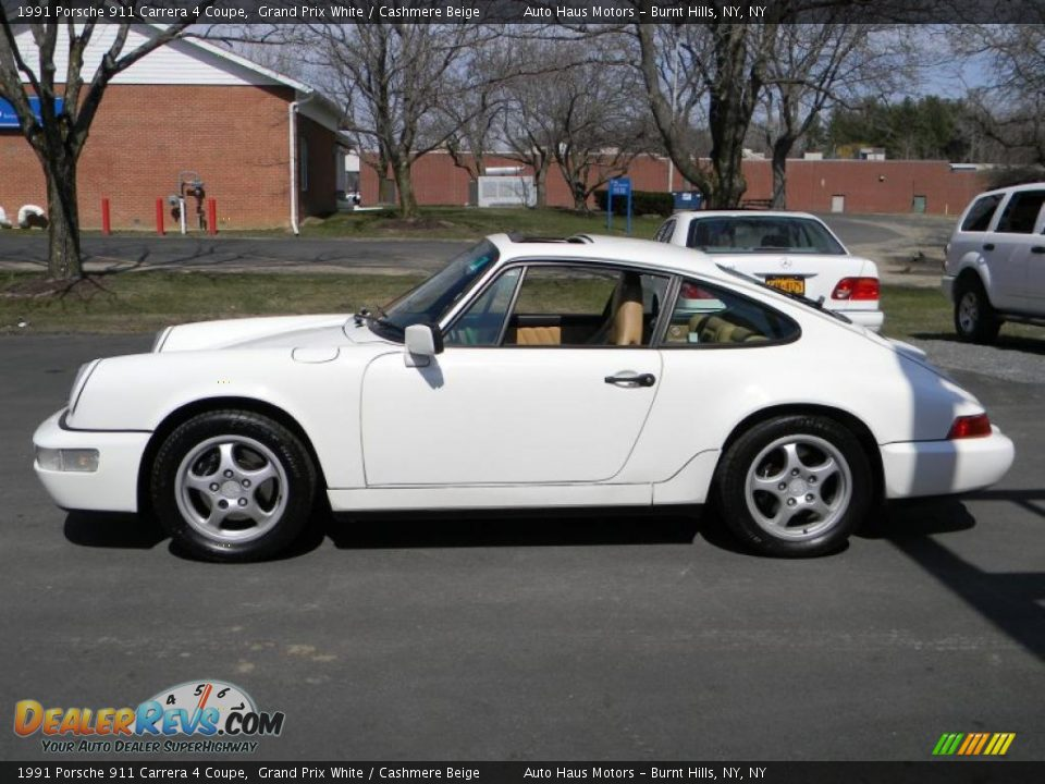 grand prix white 1991 porsche 911 carrera 4 coupe photo 6. Black Bedroom Furniture Sets. Home Design Ideas