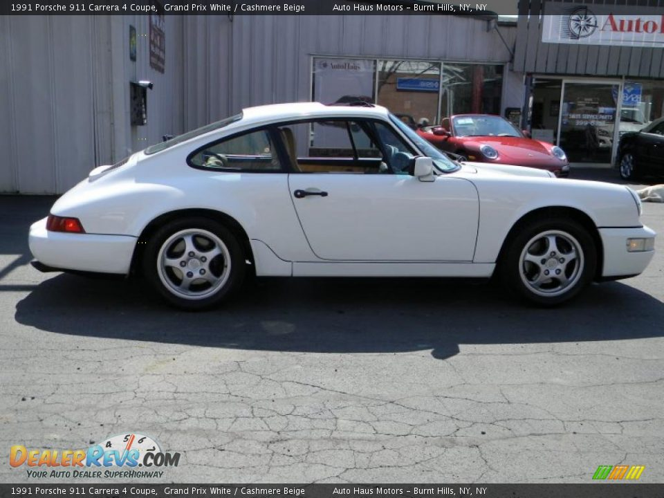 1991 porsche 911 carrera 4 coupe grand prix white cashmere beige photo 11. Black Bedroom Furniture Sets. Home Design Ideas