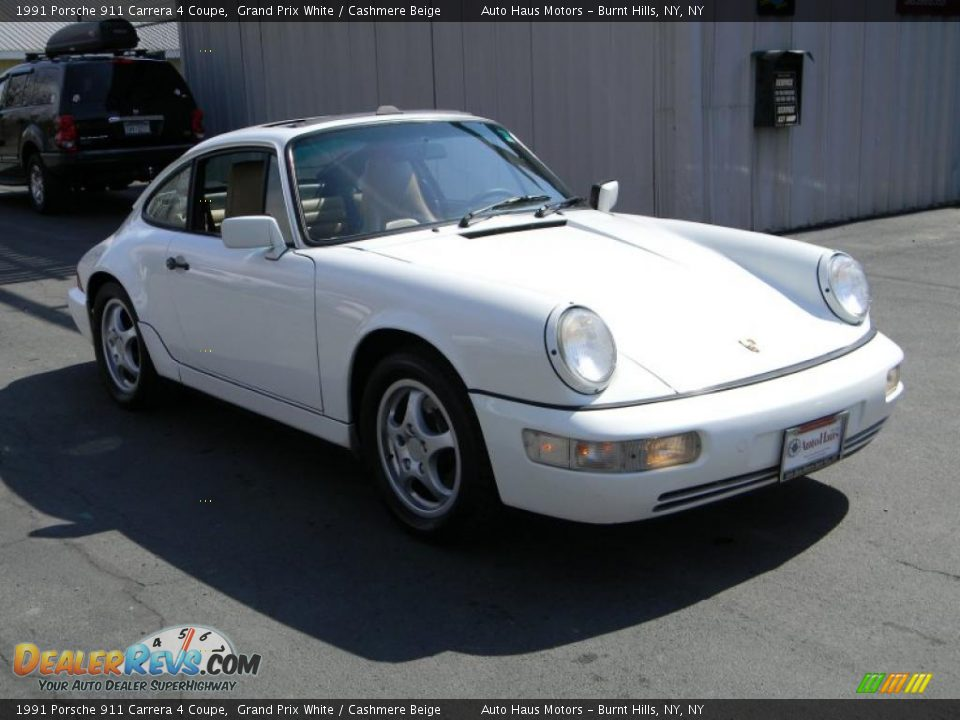 1991 porsche 911 carrera 4 coupe grand prix white cashmere beige photo 12. Black Bedroom Furniture Sets. Home Design Ideas