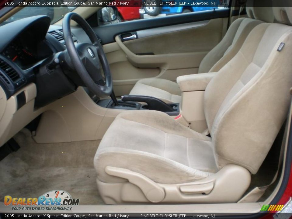 ivory interior 2005 honda accord lx special edition. Black Bedroom Furniture Sets. Home Design Ideas