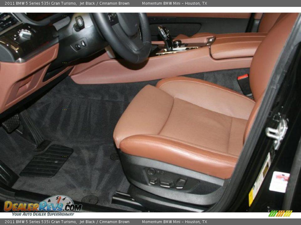 Cinnamon Brown Interior 2011 Bmw 5 Series 535i Gran Turismo Photo 6