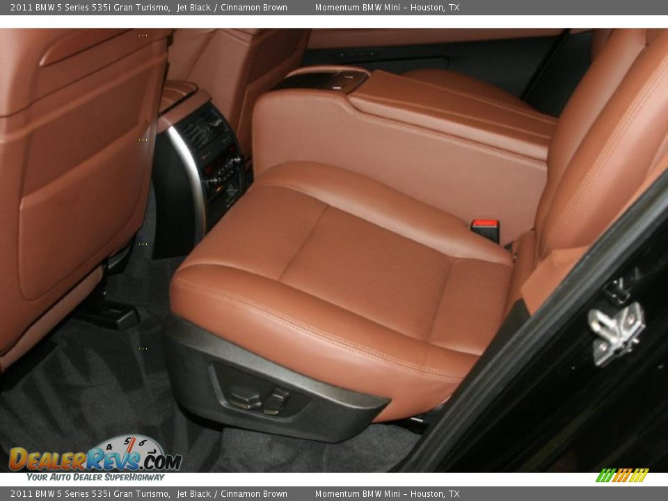 Cinnamon Brown Interior 2011 Bmw 5 Series 535i Gran