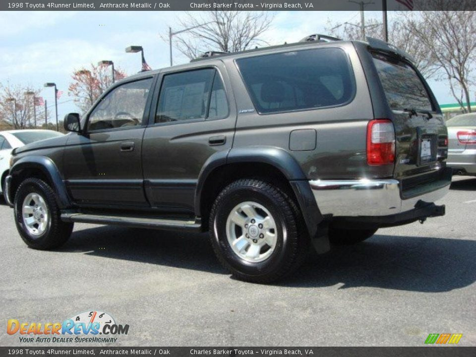 1998 Toyota 4Runner Limited Anthracite Metallic / Oak ...