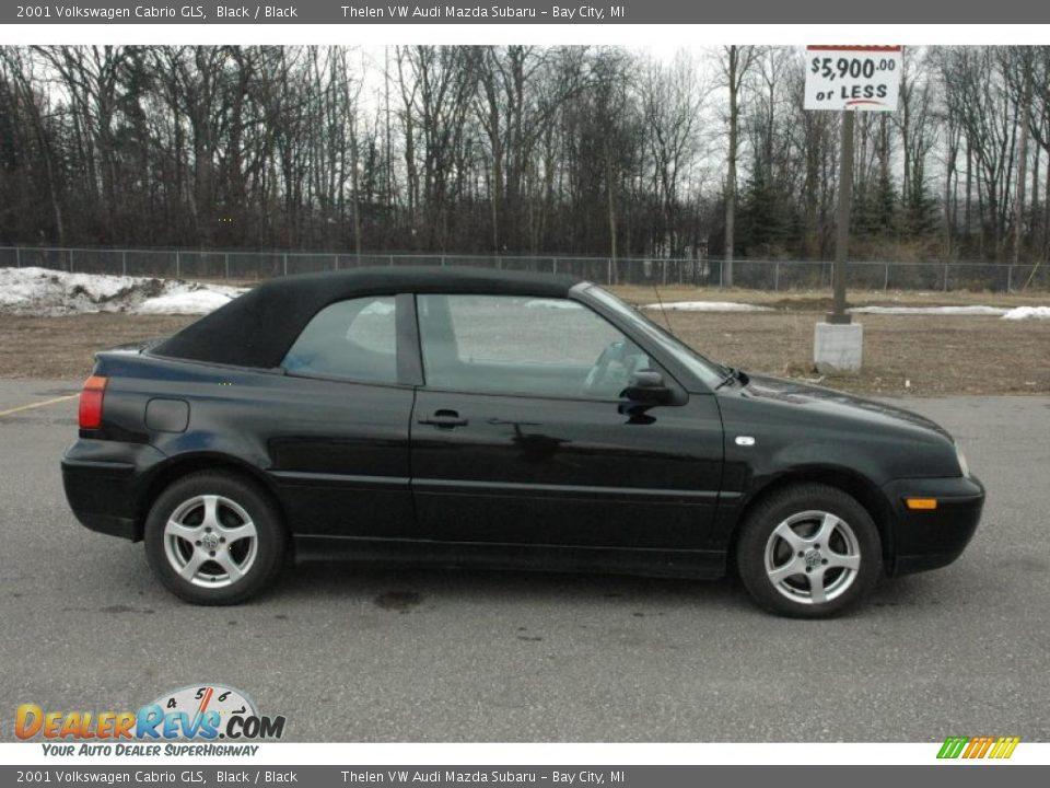 black 2001 volkswagen cabrio gls photo 12 dealerrevs com dealerrevs com