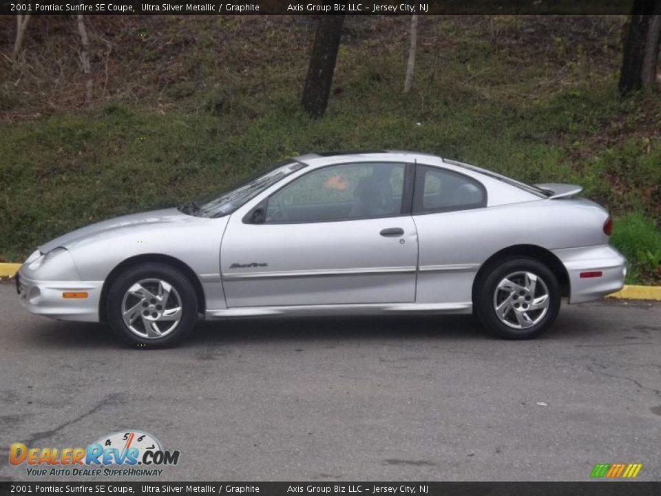 Ultra Silver Metallic 2001 Pontiac Sunfire SE Coupe Photo #3 ...