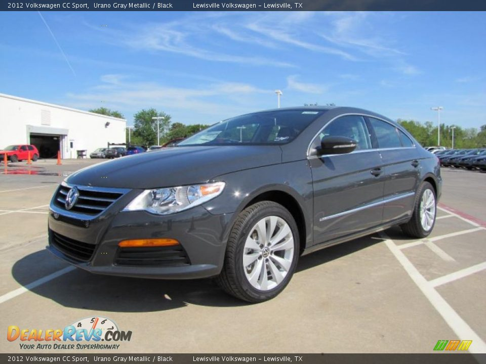 2012 volkswagen cc sport urano gray metallic black photo 1. Black Bedroom Furniture Sets. Home Design Ideas