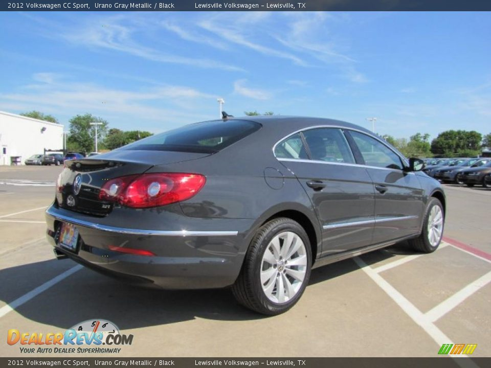2012 volkswagen cc sport urano gray metallic black photo 2. Black Bedroom Furniture Sets. Home Design Ideas