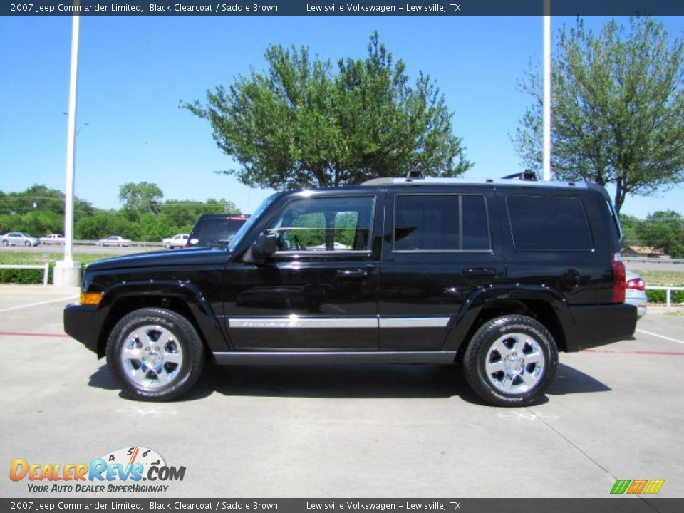 black clearcoat 2007 jeep commander limited photo 2. Black Bedroom Furniture Sets. Home Design Ideas