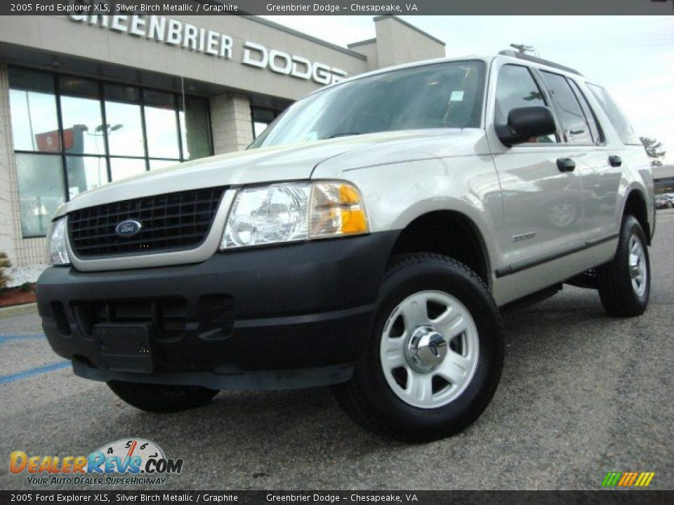 2005 ford explorer xls silver birch metallic graphite photo 1 dealerrevs com