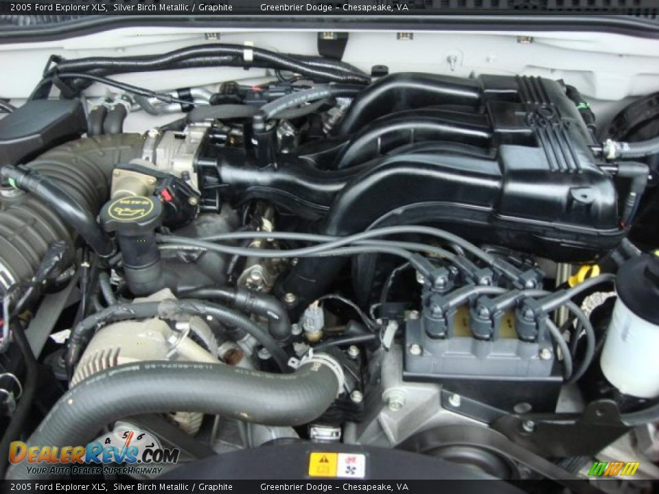 2005 Ford Explorer Xls 4 0 Liter Sohc 12 Valve V6 Engine