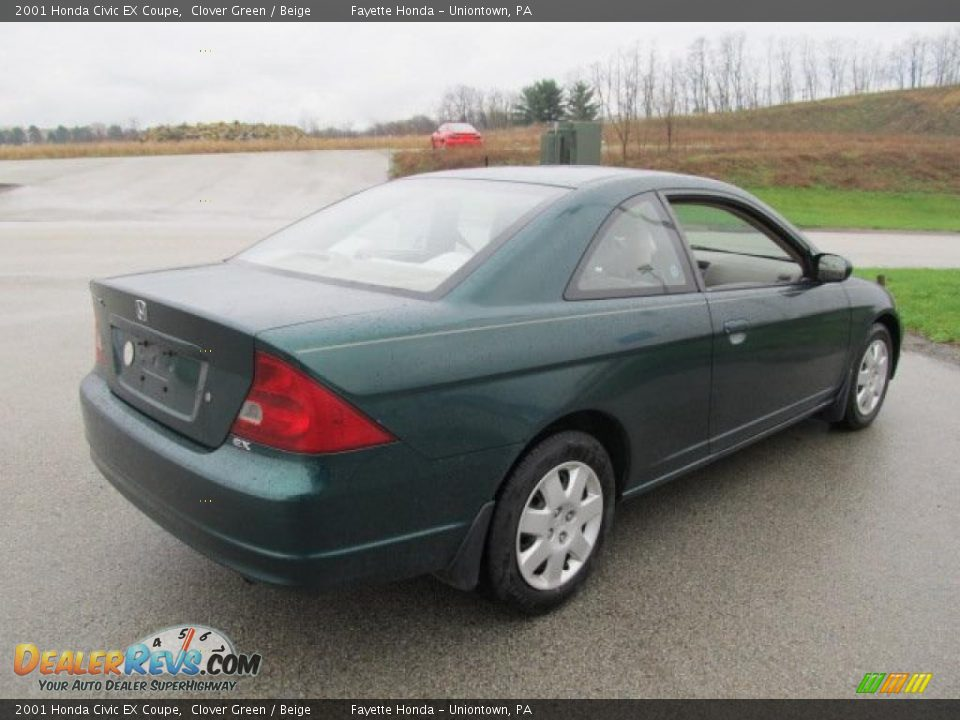 clover green 2001 honda civic ex coupe photo 11 dealerrevs