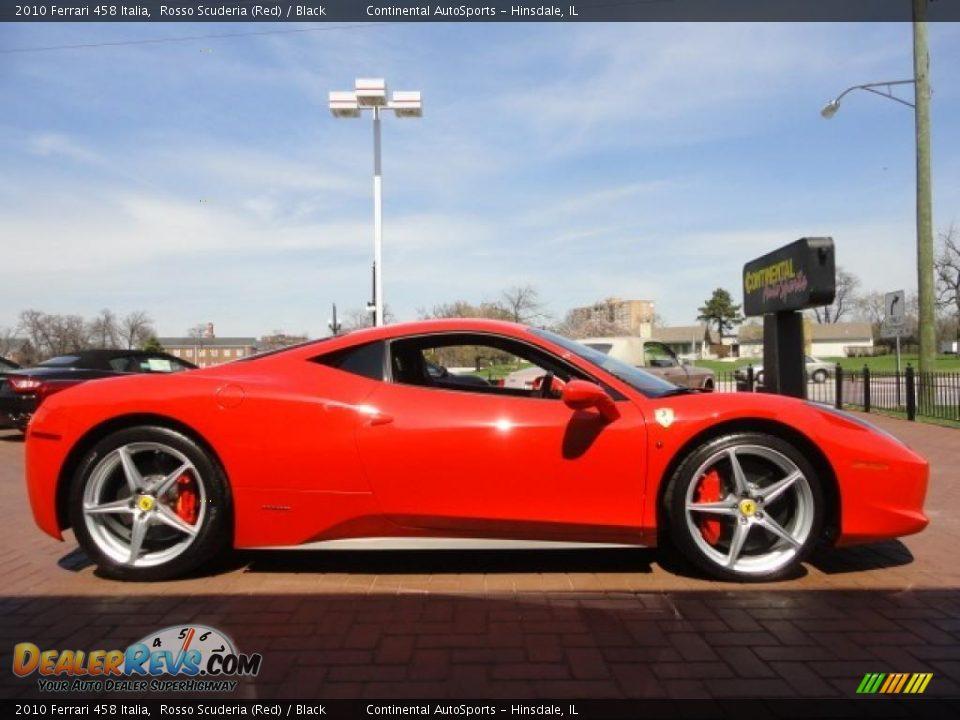 Rosso Scuderia Red 2010 Ferrari 458 Italia Photo 7