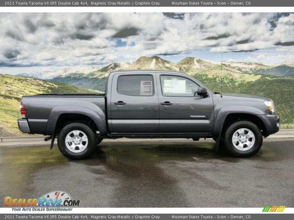 2011 toyota tacoma v6 sr5 double cab 4x4 magnetic gray. Black Bedroom Furniture Sets. Home Design Ideas