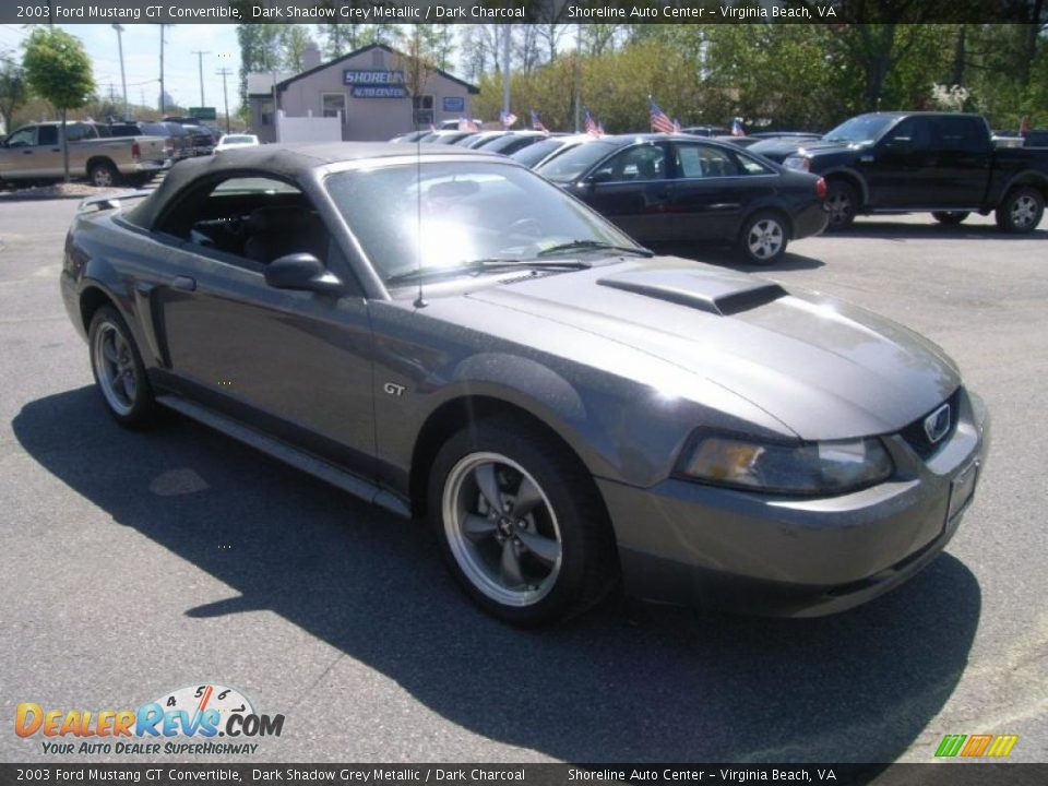 2003 ford mustang gt convertible dark shadow grey metallic dark charcoal photo 7. Black Bedroom Furniture Sets. Home Design Ideas