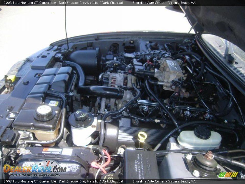 2003 ford mustang gt convertible 4 6 liter sohc 16 valve v8 engine photo 18. Black Bedroom Furniture Sets. Home Design Ideas