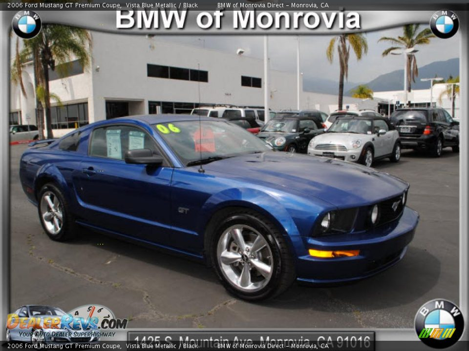2006 Ford Mustang Gt Premium Coupe Vista Blue Metallic