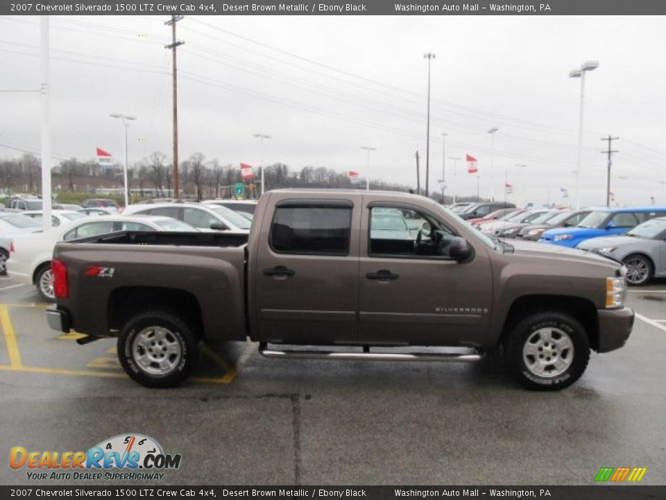 2007 chevrolet silverado 1500 ltz crew cab 4x4 desert. Black Bedroom Furniture Sets. Home Design Ideas