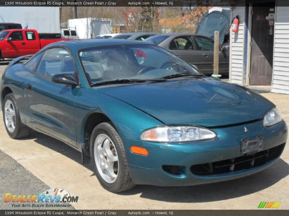 1996 mitsubishi eclipse rs coupe monarch green pearl. Black Bedroom Furniture Sets. Home Design Ideas