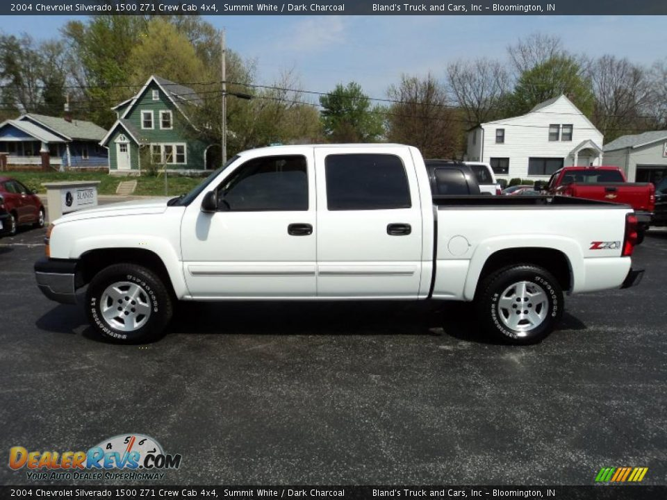 2004 chevrolet silverado 1500 z71 crew cab 4x4 summit white dark charcoal photo 1. Black Bedroom Furniture Sets. Home Design Ideas