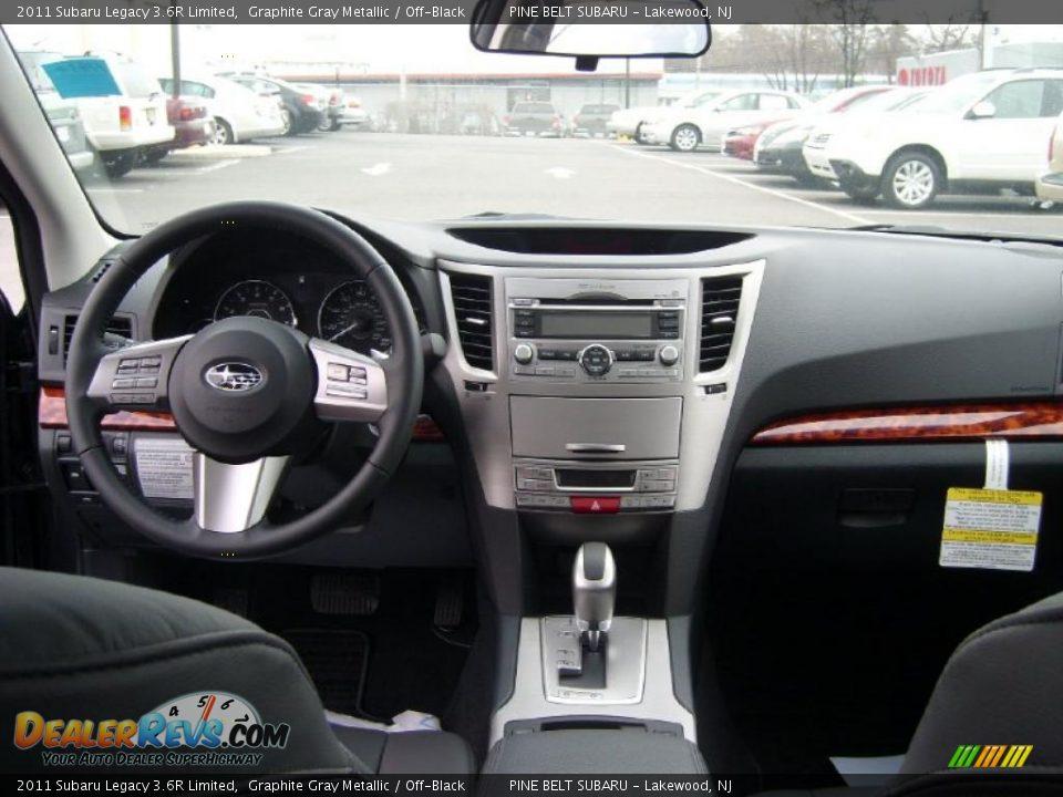 Used Subaru Legacy 3.6r >> 2011 Subaru Legacy 3.6R Limited Graphite Gray Metallic / Off-Black Photo #4 | DealerRevs.com
