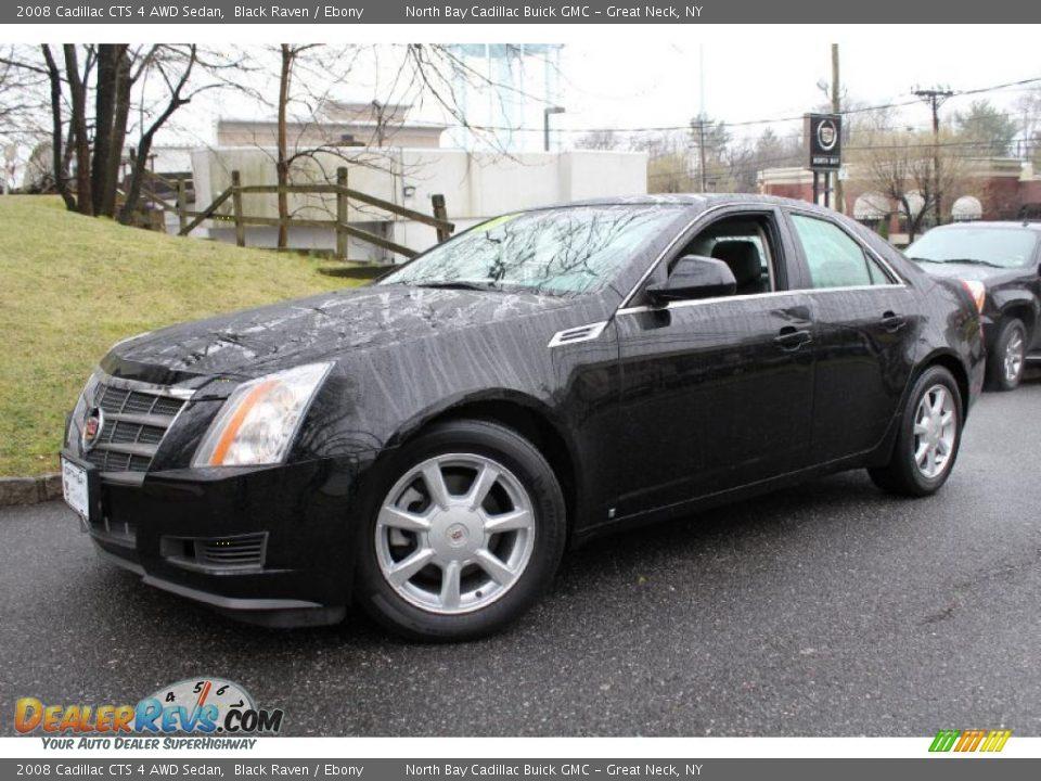 2008 Cadillac Cts 4 Awd Sedan Black Raven Ebony Photo 1
