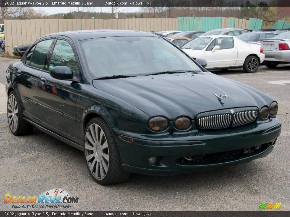 2002 jaguar x type 2 5 emerald metallic sand photo 2. Black Bedroom Furniture Sets. Home Design Ideas