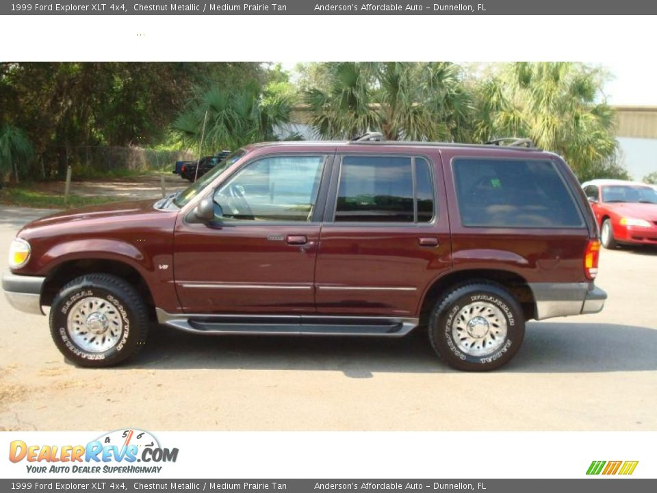 chestnut metallic 1999 ford explorer xlt 4x4 photo 6. Black Bedroom Furniture Sets. Home Design Ideas