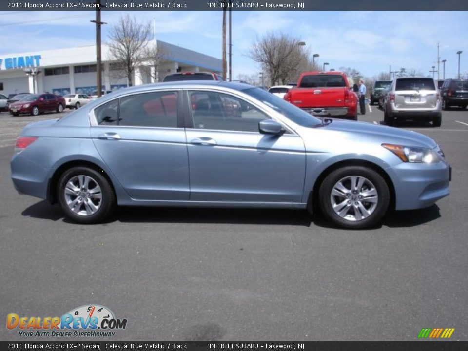 Celestial Blue Metallic 2011 Honda Accord Lx P Sedan Photo