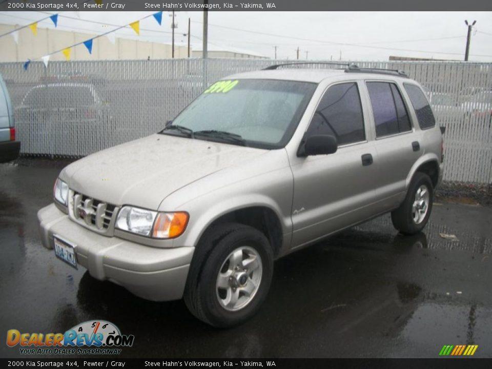 Auto Com Used Cars >> 2000 Kia Sportage 4x4 Pewter / Gray Photo #1 | DealerRevs.com