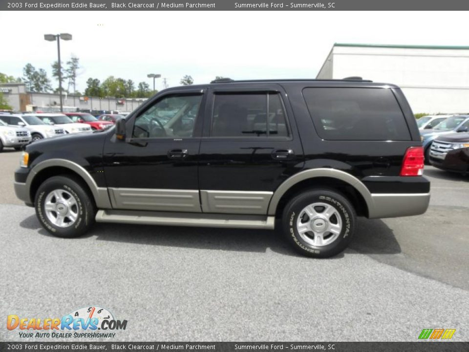 black clearcoat 2003 ford expedition eddie bauer photo 2 dealerrevs. Cars Review. Best American Auto & Cars Review